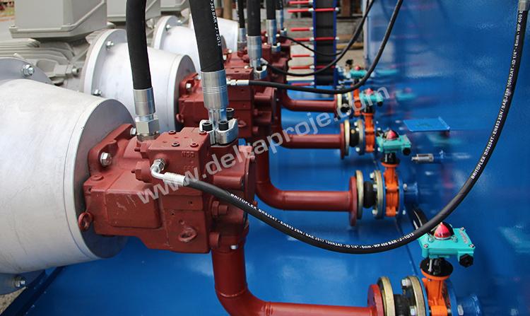 Hidrolik Güç Ünitesi
